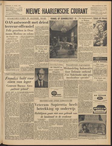 Nieuwe Haarlemsche Courant 1962-03-21
