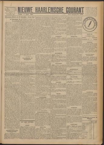 Nieuwe Haarlemsche Courant 1924-04-04