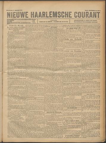 Nieuwe Haarlemsche Courant 1921-01-17