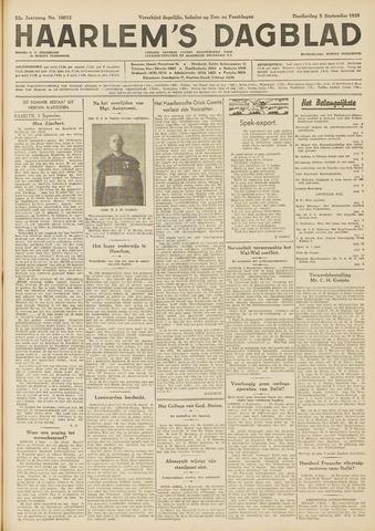 Haarlem's Dagblad 1935-09-05