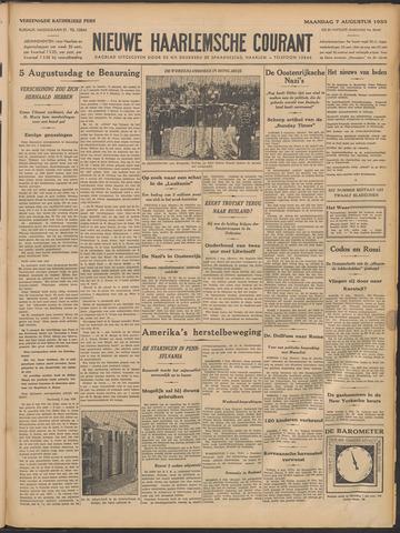 Nieuwe Haarlemsche Courant 1933-08-07