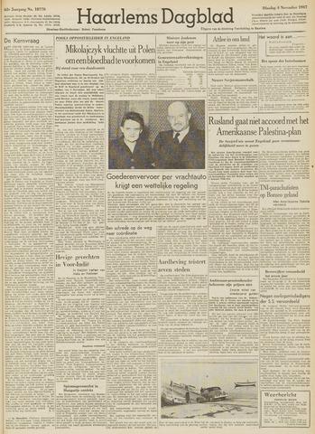 Haarlem's Dagblad 1947-11-04