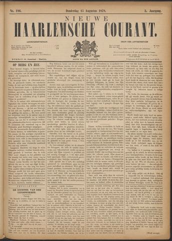 Nieuwe Haarlemsche Courant 1878-08-15