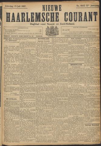 Nieuwe Haarlemsche Courant 1907-07-13
