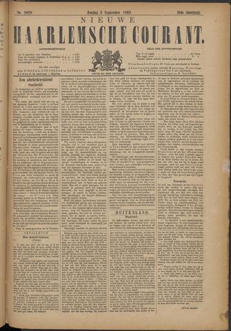 Nieuwe Haarlemsche Courant 1893-09-03