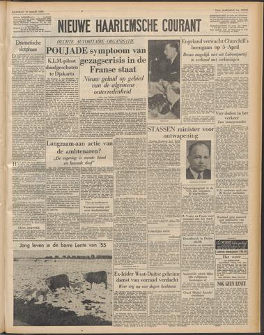 Nieuwe Haarlemsche Courant 1955-03-21