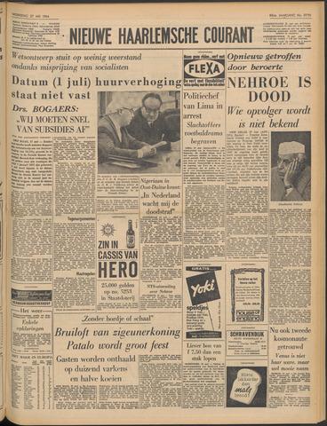 Nieuwe Haarlemsche Courant 1964-05-27