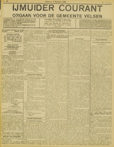 IJmuider Courant 1922-02-04
