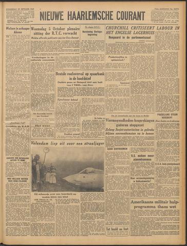 Nieuwe Haarlemsche Courant 1949-09-29