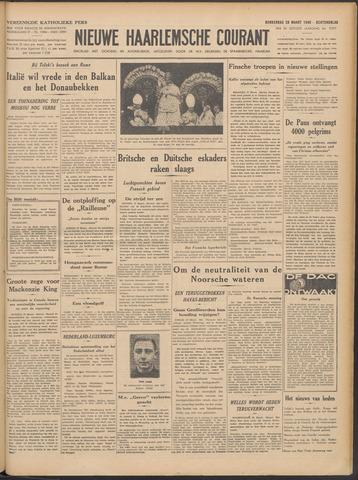 Nieuwe Haarlemsche Courant 1940-03-28