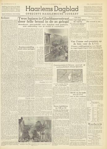Haarlem's Dagblad 1954-08-27