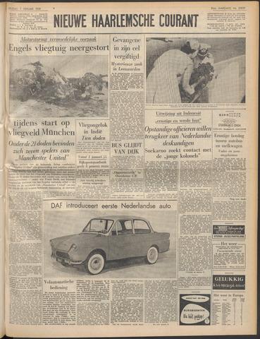 Nieuwe Haarlemsche Courant 1958-02-07