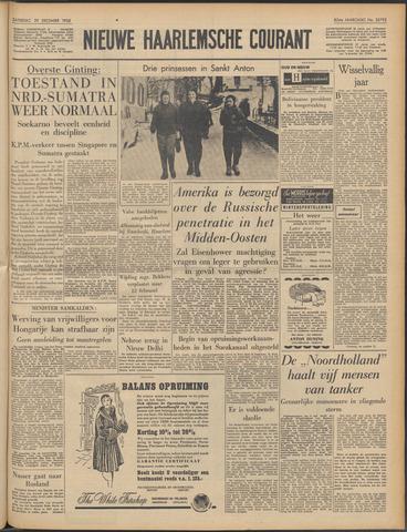 Nieuwe Haarlemsche Courant 1956-12-29