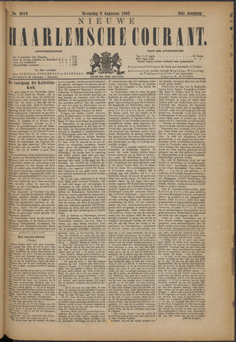 Nieuwe Haarlemsche Courant 1893-08-09