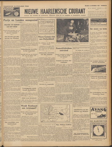 Nieuwe Haarlemsche Courant 1938-11-25
