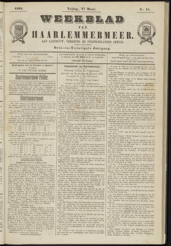 Weekblad van Haarlemmermeer 1882-03-17
