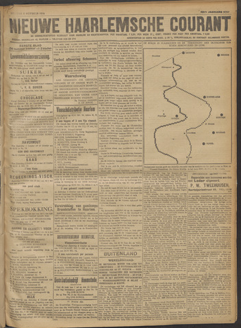 Nieuwe Haarlemsche Courant 1918-10-04