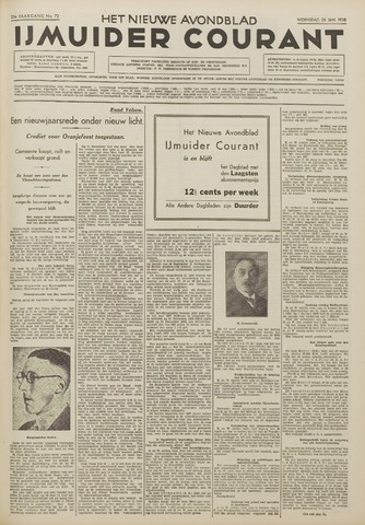 IJmuider Courant 1938-01-26