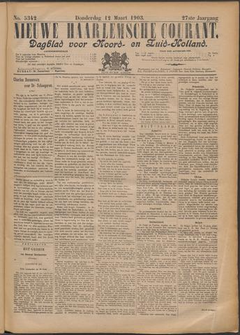 Nieuwe Haarlemsche Courant 1903-03-12