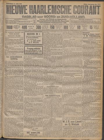 Nieuwe Haarlemsche Courant 1915-06-14