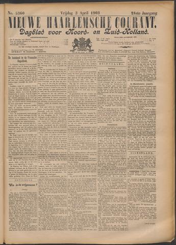 Nieuwe Haarlemsche Courant 1903-04-03
