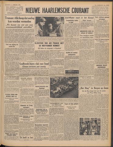 Nieuwe Haarlemsche Courant 1951-02-05