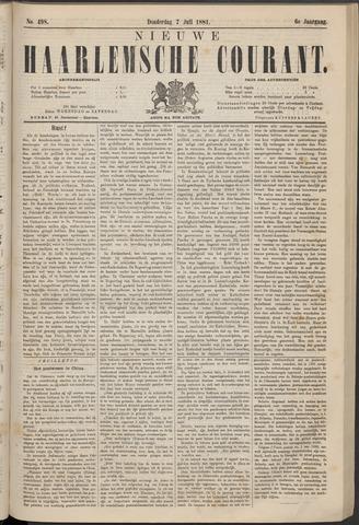 Nieuwe Haarlemsche Courant 1881-07-07
