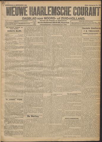 Nieuwe Haarlemsche Courant 1914-11-12