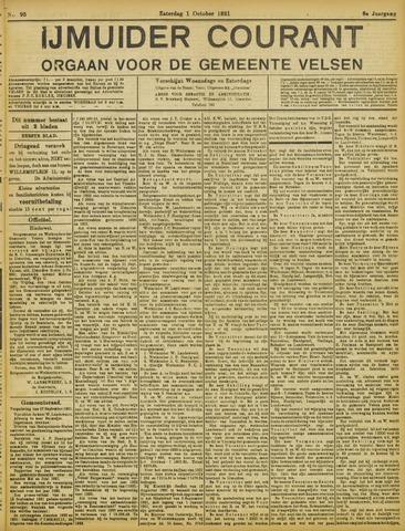 IJmuider Courant 1921-10-01