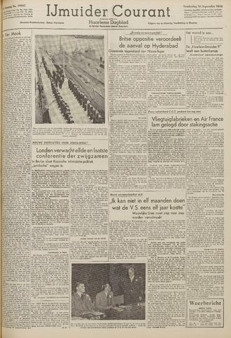 IJmuider Courant 1948-09-16
