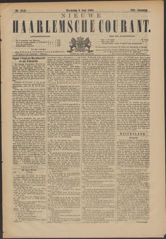 Nieuwe Haarlemsche Courant 1894-06-06