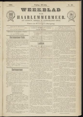 Weekblad van Haarlemmermeer 1881-07-22