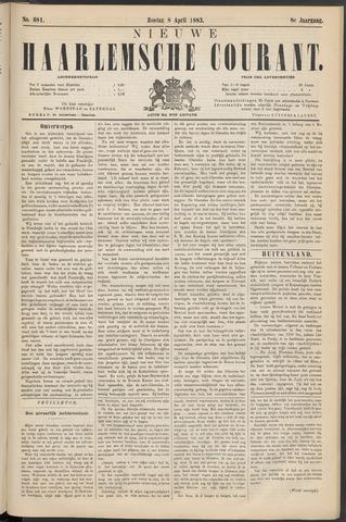 Nieuwe Haarlemsche Courant 1883-04-08