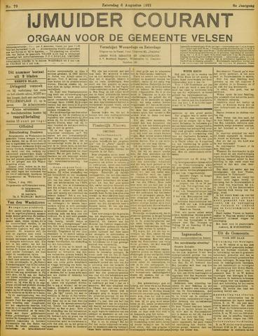 IJmuider Courant 1921-08-06