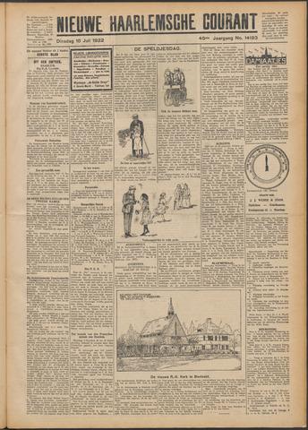 Nieuwe Haarlemsche Courant 1922-07-18