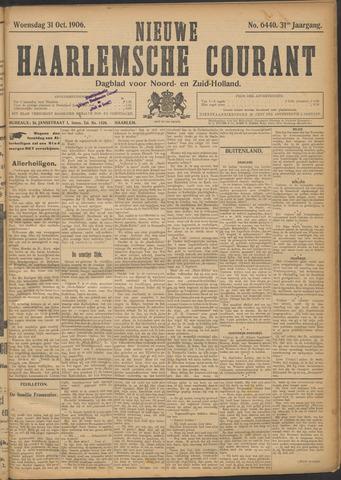 Nieuwe Haarlemsche Courant 1906-10-31