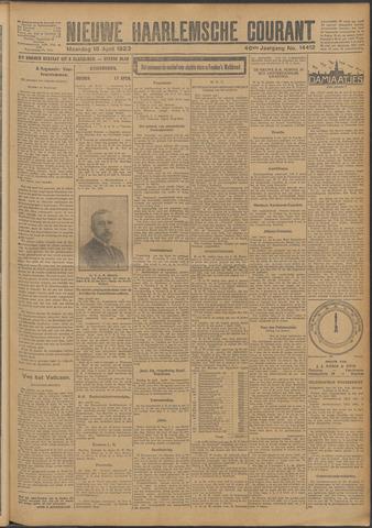 Nieuwe Haarlemsche Courant 1923-04-16