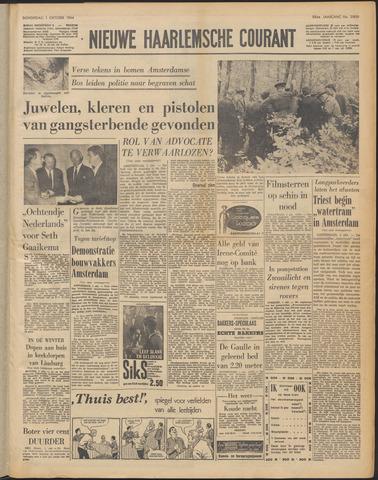 Nieuwe Haarlemsche Courant 1964-10-01