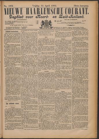 Nieuwe Haarlemsche Courant 1905-04-14