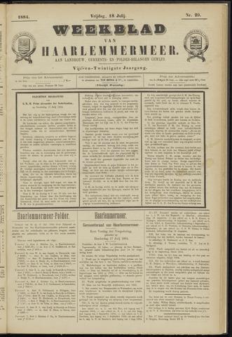 Weekblad van Haarlemmermeer 1884-07-18