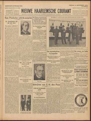 Nieuwe Haarlemsche Courant 1934-09-14