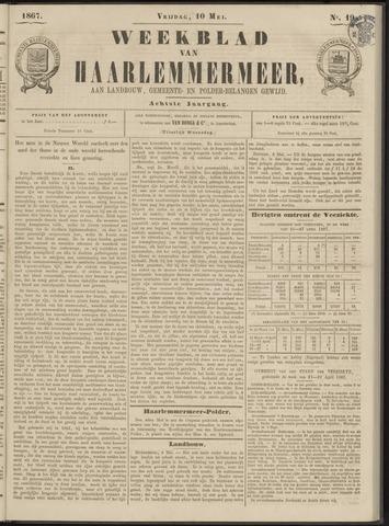 Weekblad van Haarlemmermeer 1867-05-10