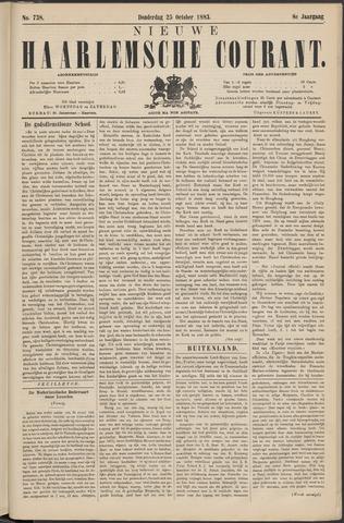 Nieuwe Haarlemsche Courant 1883-10-25