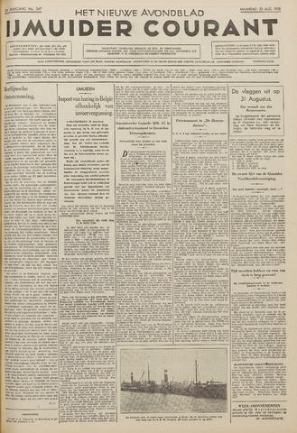 IJmuider Courant 1938-08-22