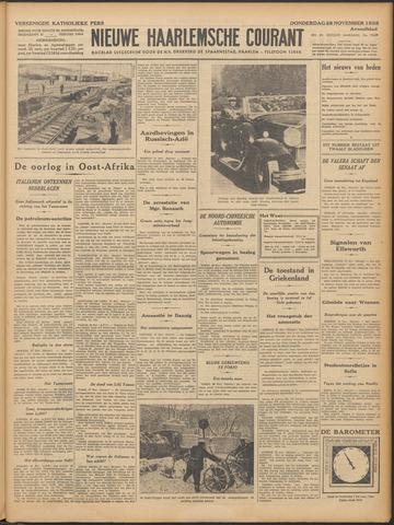 Nieuwe Haarlemsche Courant 1935-11-28