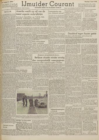 IJmuider Courant 1948-04-05