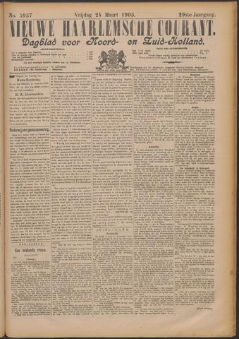 Nieuwe Haarlemsche Courant 1905-03-24