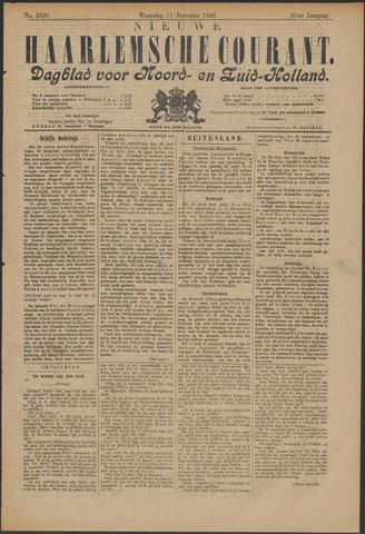 Nieuwe Haarlemsche Courant 1896-11-11