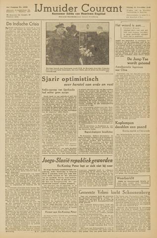 IJmuider Courant 1945-11-30