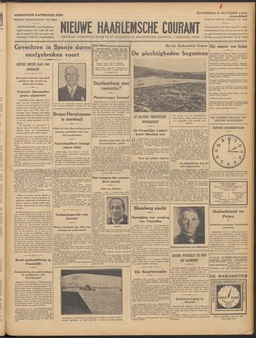 Nieuwe Haarlemsche Courant 1934-10-06